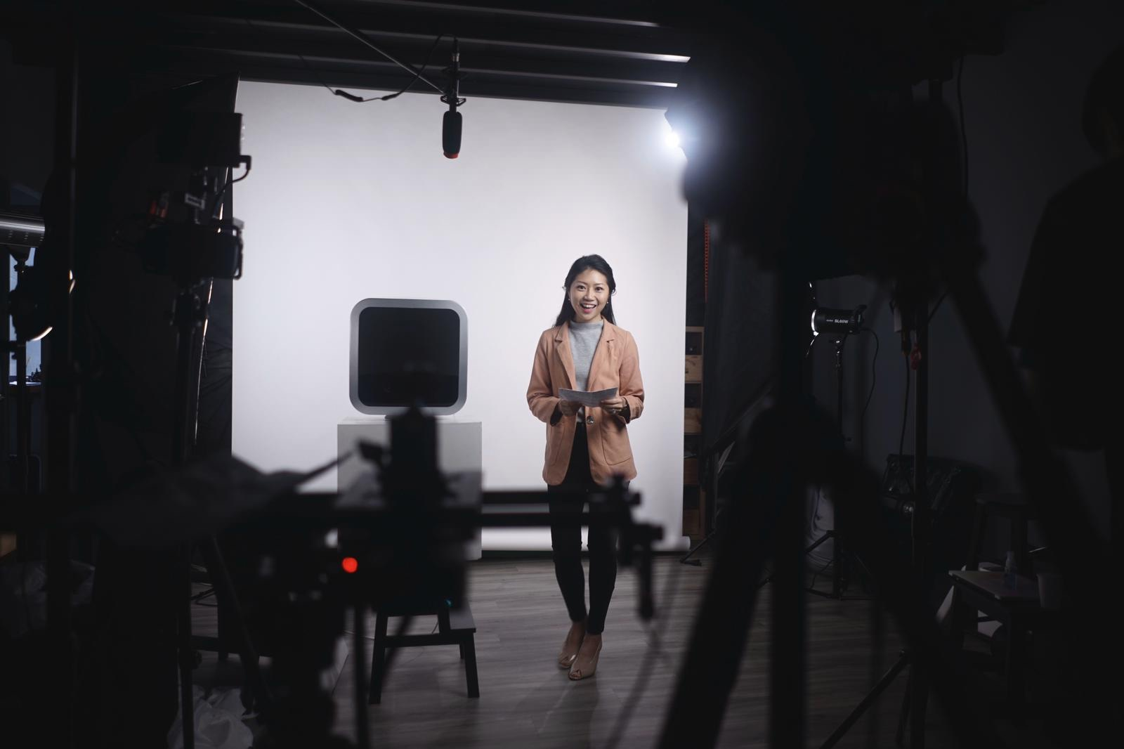 behind the scene - shoot for Ariston Andris 2 Top YouTube commercial